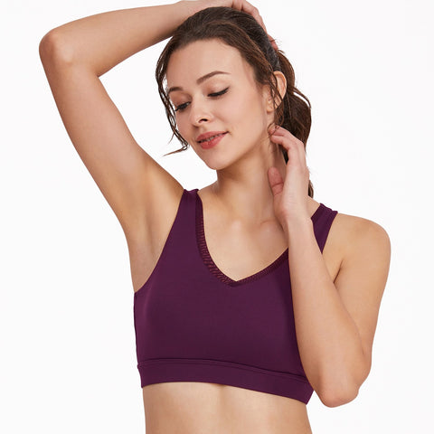 Sexy Deep V Quick Drying Breathable Comfortable Yoga Vest