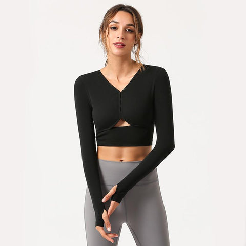 Sports Fitness Long Sleeve T-shirt