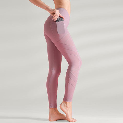Quick-drying High Waist Sports Fitness Pants