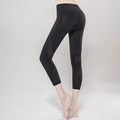 Breathable High Bomb Nine Fitness Pants