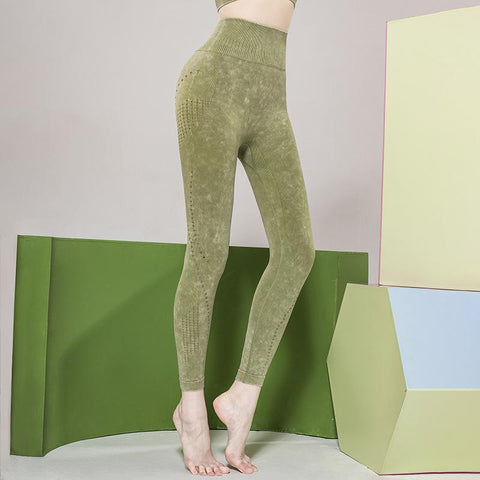 Hollow-out high-elastic Yoga Pants