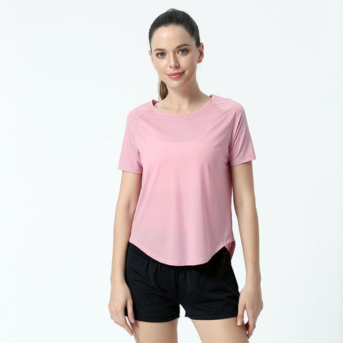 Quick Dry Elastic Yoga Fitness Top