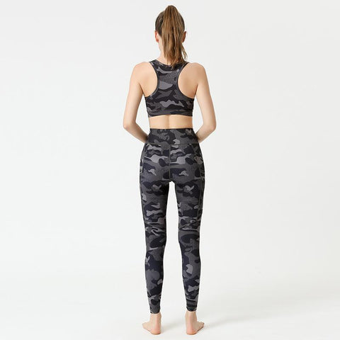 High Waist Fitness Printed Yoga Pants