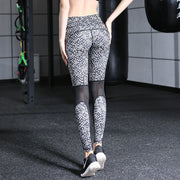Women's Sports Tight Yoga Pants Printed Yoga Trousers