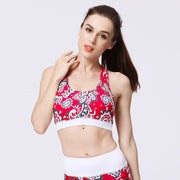 Printed Bra Without Steel Ring Sports Bra