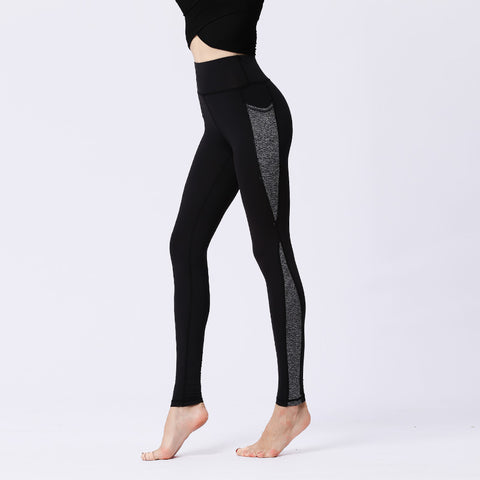 Yoga Pants Fitness Quick-drying High Waist Hip Tights Sports Leggings