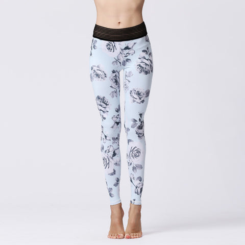 Printed Yoga Pants Sports Fitness Yoga Quick-drying Tights
