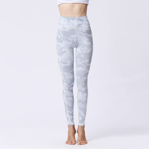 Sports Tight Fitness Yoga Pants Quick-drying High-elastic Digital Printing Leggings
