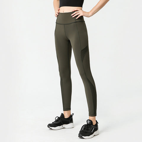 Pocket Yoga Pants Women's Tight Sports Running Fitness Pants