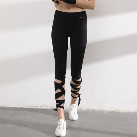 High Waist Tight Exercise Fitness Pants