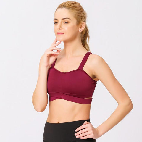 Sexy Quick Drying Beauty Back Sports Bra