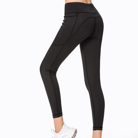 High Waist Exercise Fitness Pants