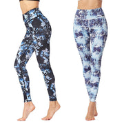 Print Yoga Pants High Elastic Breathable Sports Pants Fitness Yoga Pants