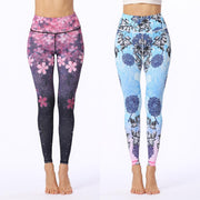 Exercise Printed Yoga Pants