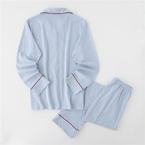 Cotton Long-sleeved Home Clothing Pajamas Suits