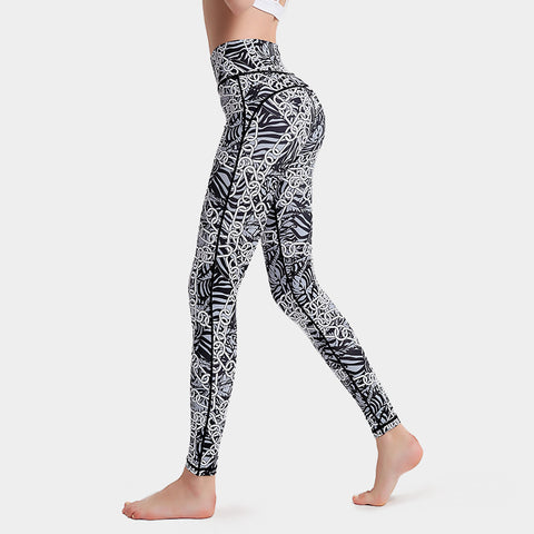 Printed Yoga Pants Sports Yoga Fitness Leggings