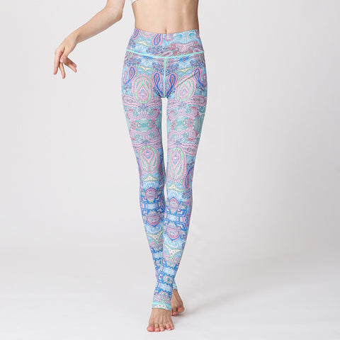 Digital Printing Yoga Pants SportsFitness Dance Trousers