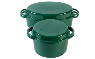 Green Dutch Oven Oval 5,2L