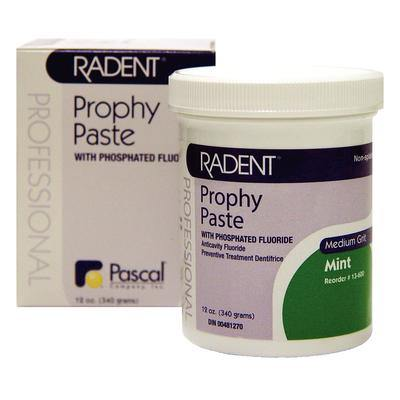 Radent Prophy Paste Jar 12 oz jar - Coarse
