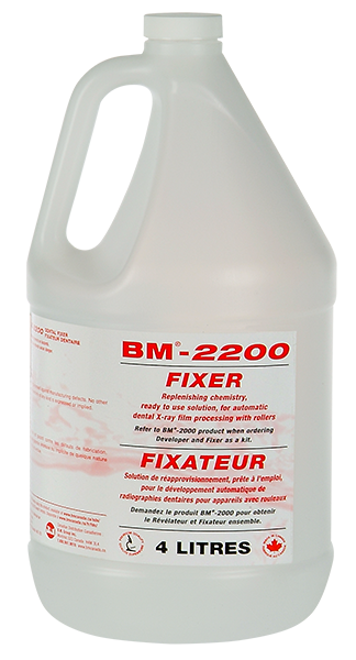 Fixer & Developer BM-2200. Fixer Only 4L