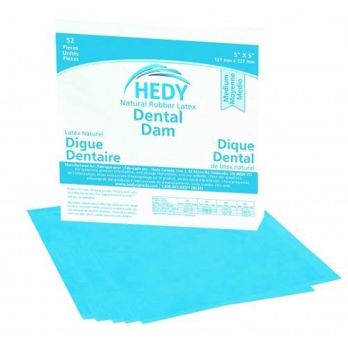 Natural Rubber Latex Dental Dam