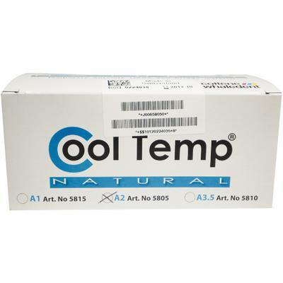 Cool Temp® Natural Temporary Crown and Bridge Material, 50 ml Cartridge Refill Package