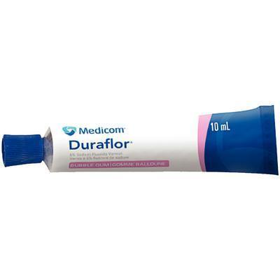 Duraflor® Varnish – 5% Sodium Fluoride, Bubble Gum, 10 ml Tube
