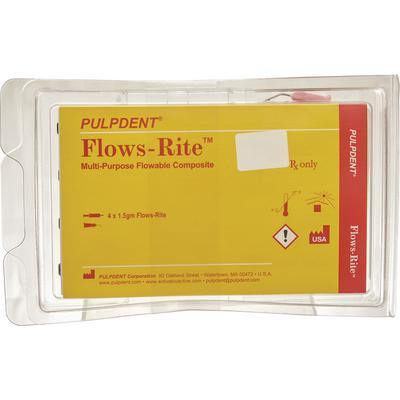 Flows-Rite™ Multipurpose Composite – 4 (1.5 g) Syringes, 20 Applicator Tips