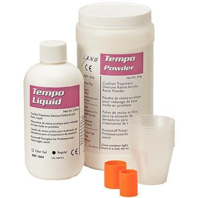 Tempo™ Reline Acrylic Resin – Professional Package Clear