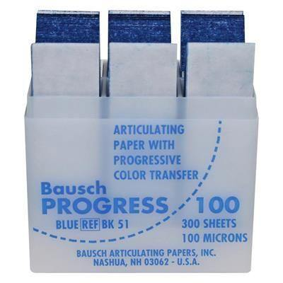 Bausch Progress .004 Articulating 300/bx - 100 Microns