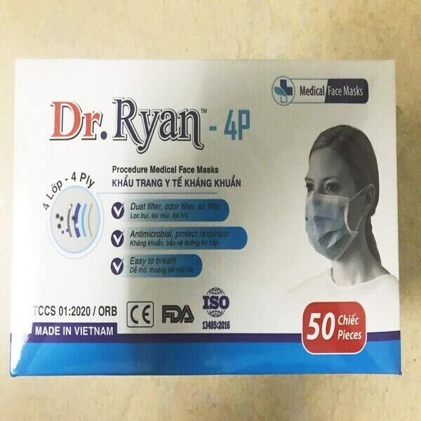 Dr. Ryan Level 2, 4-ply Mask 50/pk - In Stock NOW