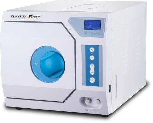 Flight Autoclave 23+ with Compressor - Class N autoclave