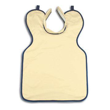 Lead Apron. Adult Size with Collar Beige