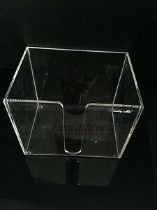 Bib Holder Plastic Box Dispenser