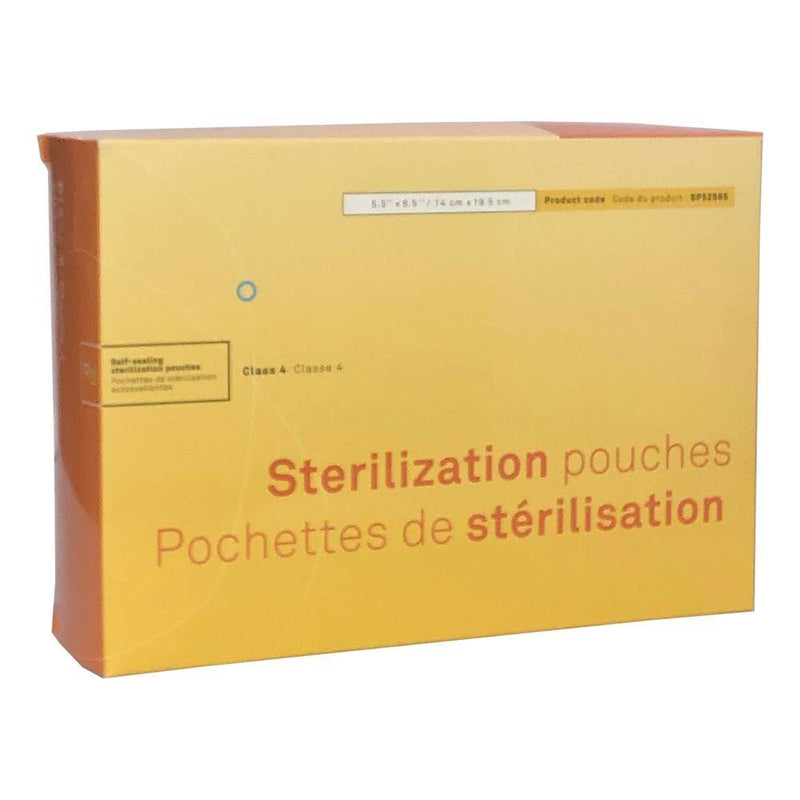 Self-Sealing Sterilization Pouches, Class 4