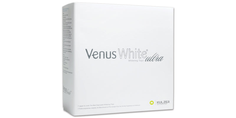 Venus White Ultra Trays, 7 Upper & 7 Lower Pre-filled trays
