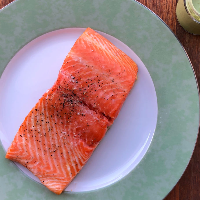 COOKING HOW-TO: STEAMED SALMON