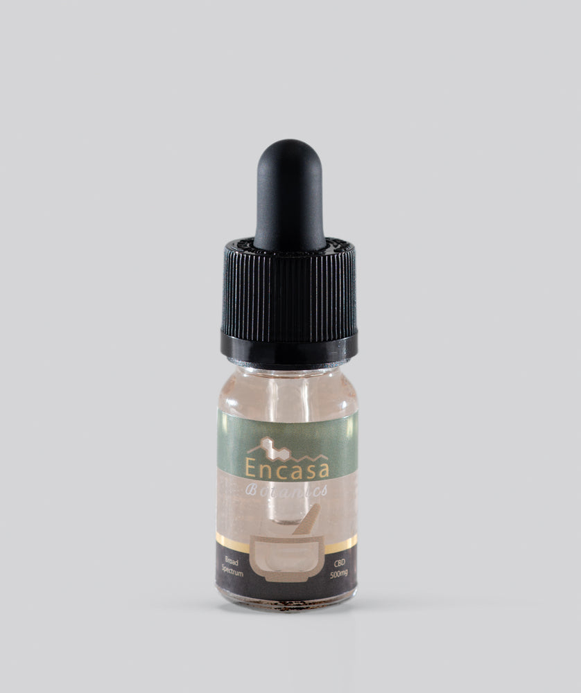 Broad spectrum CBD oil 500mg CBD - 10ml