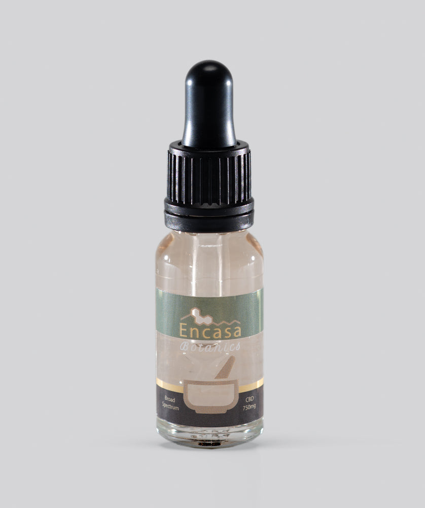 Broad spectrum CBD oil 750mg CBD - 15ml