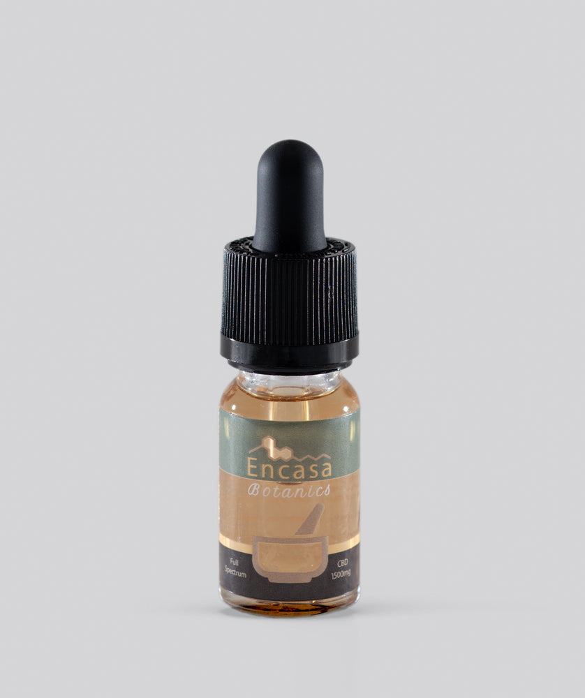 Full spectrum CBD oil 1500mg CBD - 10ml