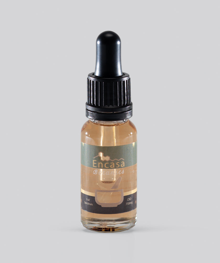 Full spectrum CBD oil 750mg CBD - 15ml