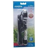 MARINA MINI AQUARIUM HEATER 25W 15CM