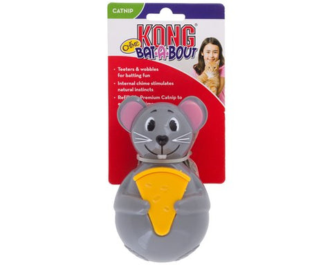 KONG CAT BAT A BOUT CHIME MOUSE