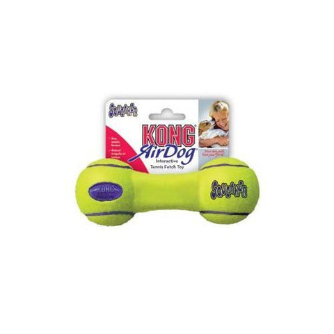 KONG AIR DOG SQUEAKER DUMBELL LARGE