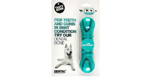 NYLON DENTAL BONE PEPPERMINT