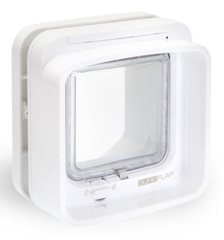 SUREFLAP DUAL SCAN MICROCHIP CAT DOOR WHITE