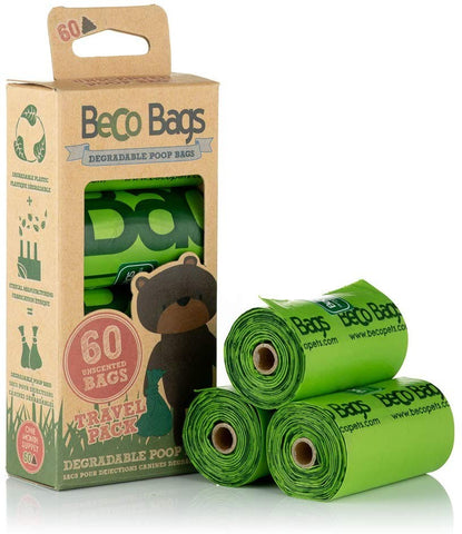BECO POO BAGS 60PK ECO FRIENDLY