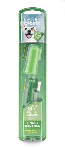 FRESH BREATH FINGER BRUSH FOR DOGS