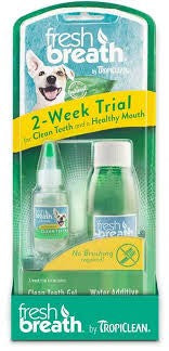 TROPICLEAN FRESH BREATH TRIAL KIT