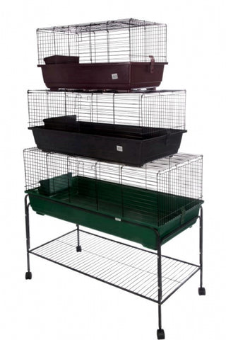 HUTCH - PLASTIC/WIRE RABBIT RB120 LARGE